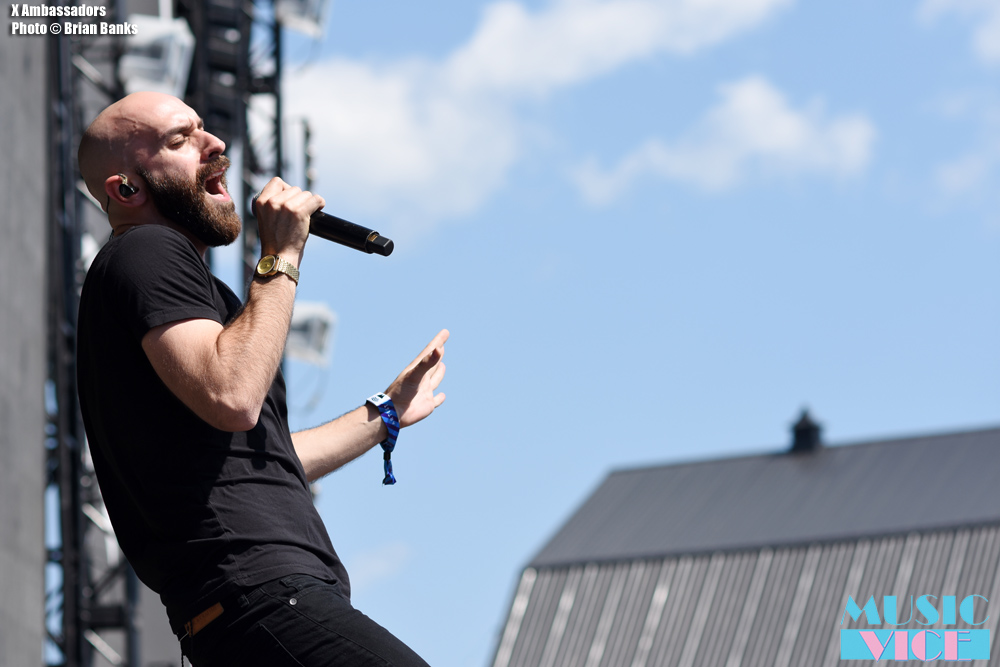 X Ambassadors on stage at Wayhome 2016 - photo Brian Banks, Music Vice