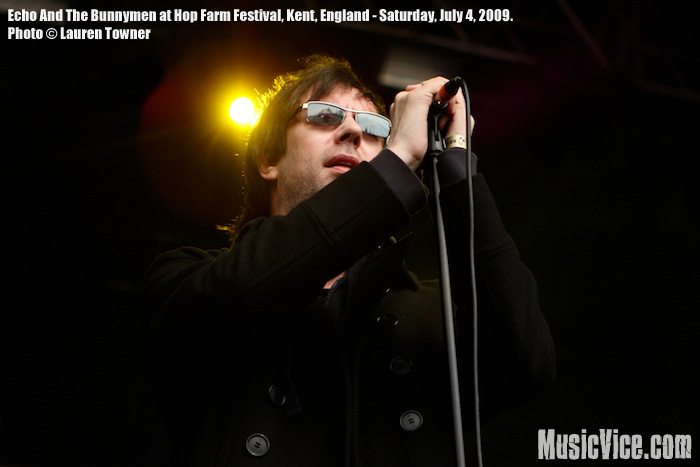 Echo And The Bunnymen at Hop Farm Festival - photo by Lauren Towner, MusicVice.com