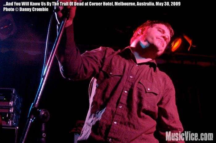 ...And You Will Know Us By The Trail Of Dead at Corner Hotel, Melbourne - photo by Danny Crombie