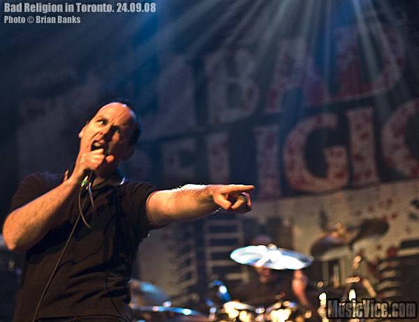 Bad Religion with The Bronx at Sound Academy, Toronto, 24 September, 2008 – Gig Review and Photos