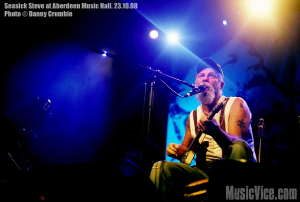 Seasick Steve with Amy LaVere at Aberdeen Music Hall, Scotland, 23 October, 2008 – Review and Show Photos