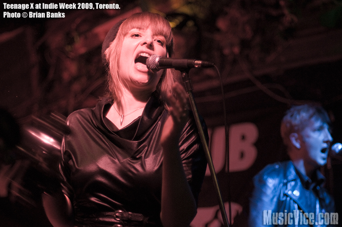 Teenage X at Indie Week - photo by Brian Banks - Music Vice
