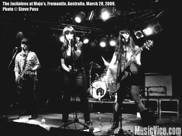 The Jacknives at Mojo's, Fremantle, Western Australia, 28 March 2009 – Review and Show Photos