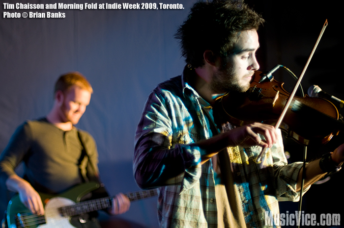 Tim Chaisson And The Morning Fold at Indie Week - photo by Brian Banks - Music Vice
