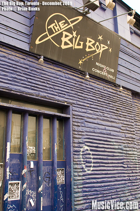 The Big Bop in Toronto Set To Close