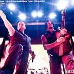 Disturbed at Rockstar Uproar Festival, Molson Amphitheatre, Toronto, 25 August 2010 - photo by Brian Banks, Music Vice