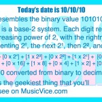 101010 equals 42 - happy Binary Day