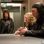 Anvil listening party - photo of Robb Reiner and Steve Kudlow in Noble Street studios by Brian Banks, Music Vice