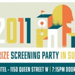 2011 Polaris Music Prize Screening Party at The Drake Hotel