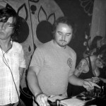 Gary Prosser and Ben James DJing with Amy Winehouse