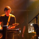 Conor of Half Moon Run on stage last night at Virgin Mobile Mod Club in Toronto - photo Brian Banks, Music Vice